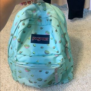 Avocado Print Jansport Backpack